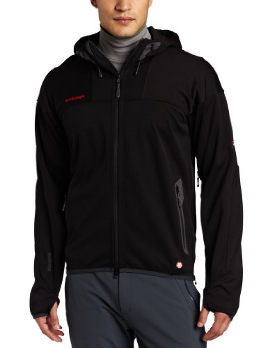 Mammut Herren Jacke Ultimate Hoody Men, Black, S, 1010-05171-0001-113