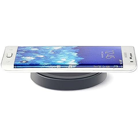 Caricatore Senza Fili Qi - Nero - Galaxy S6 /