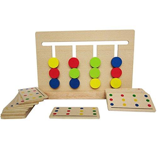 Youmiya, quattro colori montessori corrispondenza educazione della prima infanzia preschool training learning toys