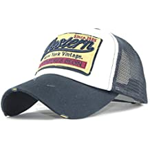 Amlaiworld_Gorras Gorra de Beisbol Verano Bordada de Malla Sombreros para Hombres Mujeres Sombreros Casuales Gorras de