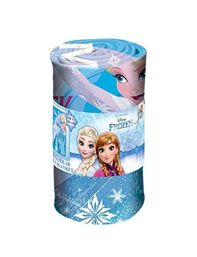 Disney frozen - coperta in pile 150 x 100 cm (wd19938), multicolore, 150 x 100 cm