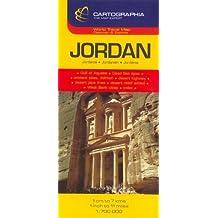 Carte Cartographia Jordanie
