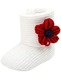 DAYLIN Bebé Niños Niñas Zapatos Otoño Invierno Moda Algodón Zapato Primeros Pasos