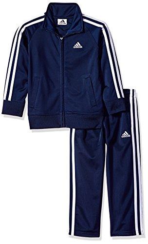 (adidas Jungen Trainingsanzug *, blau, AG5456)