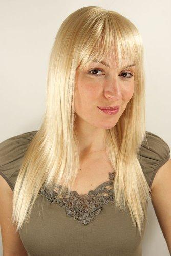 WIG ME UP - Perruque Super Sexy Pour Femme, Avec Frange, De Couleur Blonde Env.50Cm