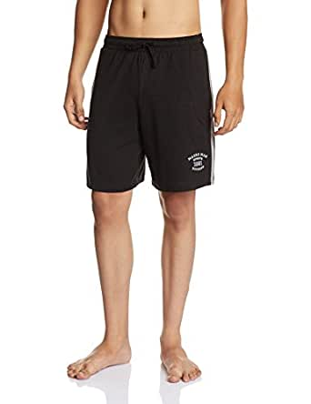 Macroman M-Series Men's Cotton Shorts (8903978093819) (MS612 Black S)