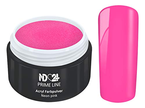 5G - PRIME LINE - ACRYL FarbPulver NEON PINK ROSA - Feinstes FARB Acryl-Puder Acryl-Pulver Acryl-Powder - STUDIO ()