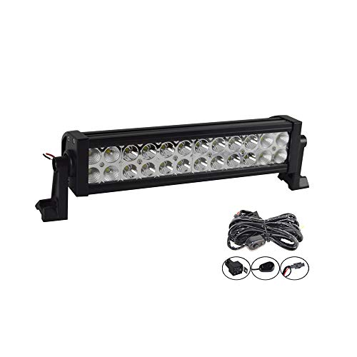 BIGSEASON 16 pulgadas 72W LED Light Bar
