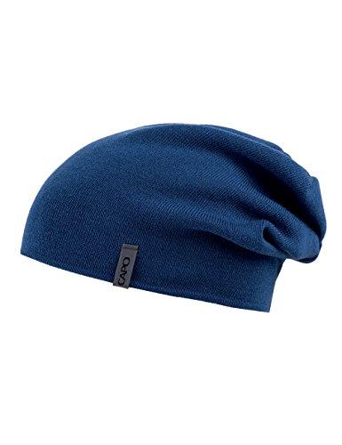 Capo Unisex Strickmütze Cool Wool Beanie Blau (royal 16)