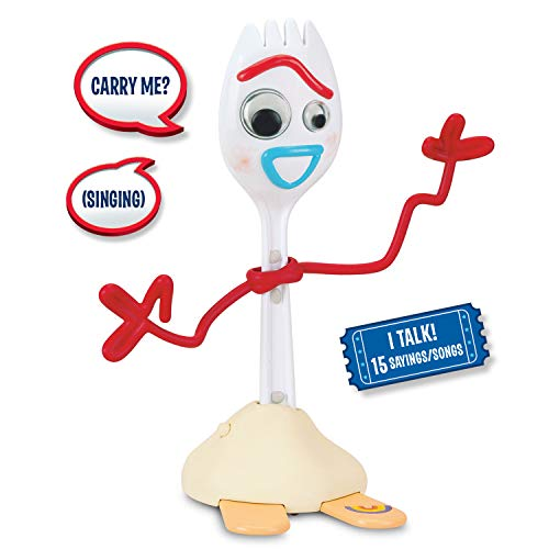 Toy Story 4 Figurine parlante Forky Free Wheeling