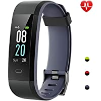 Montre Connectée, Willful Bracelet Connecté Podometre Smartwatch Écran Couleur Etanche IP68 Femme Homme Enfant Sport Marche Cardiofréquencemètre Smart Watch Cardio pour iPhone Samsung Huawei Android iOS Smartphone