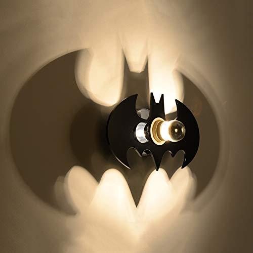 Batman E27 - Applique Murale Décorative Couloir Chambre D'enfants En Acrylique Projet De Bande Dessinée