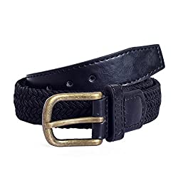 Lino Perros Womens Belt (LWBE00431BLACK_95)