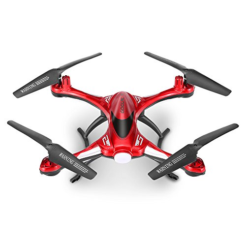 GoolRC T6 2.4 G 4CH 6-axis Gyro Impermeabile Drone con la modalità senza testa Sola andata e ritorno chiave RC Quadcopter