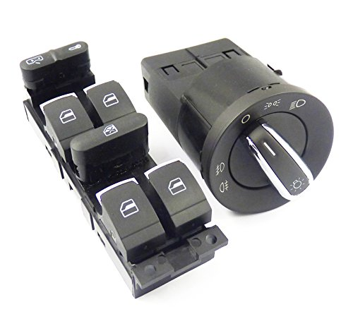 neu-hauptscheinwerfer-hauptschalter-2-stck-3bd959857-fr-vw-jetta-passat-golf-volkswagen-beetle-2003-