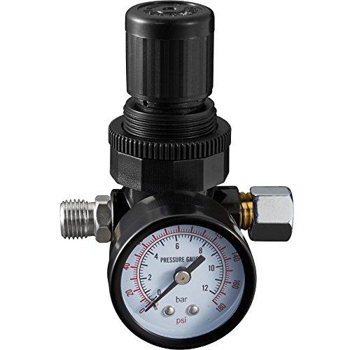 Luft Druckluft-werkzeuge Kompressor Für (TecTake® Druckregler Druckminderer Manometer 1/4 Zoll)