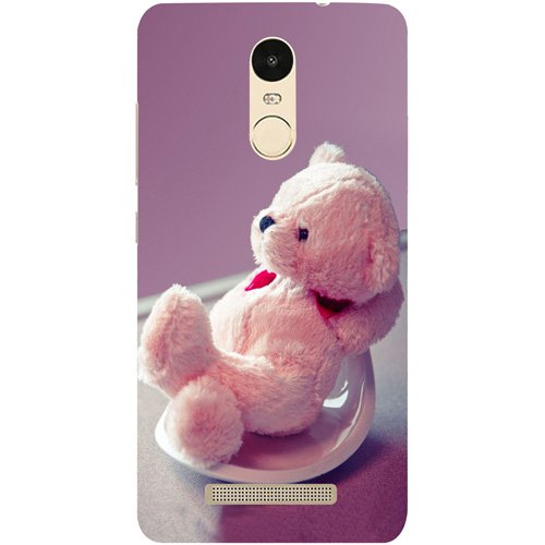 Casotec Cute Teddy Bear Design Hard Back Case Cover for Xiaomi Redmi Note 3  available at amazon for Rs.199