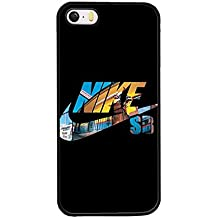 Iphone 5s 5 Funda Case Nike, Tough Snap on Rugged Solid Funda Case Compatible with Iphone 5s