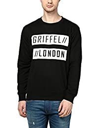 Griffel Latest New Designer Stylish Cotton Fleece Griffel London Printed Sweatshirt/Pullover Full Sleeve Round Neck For Men/Boys