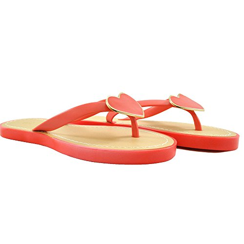 Footprints - Retro aperto da ragazza' donna Coral