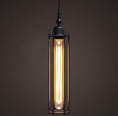 HWAMART  HL419 Jahrgang industrielle Metall rustikale Loft Anhänger Deckenleuchte Edison-Lampe Lampe Eisen -