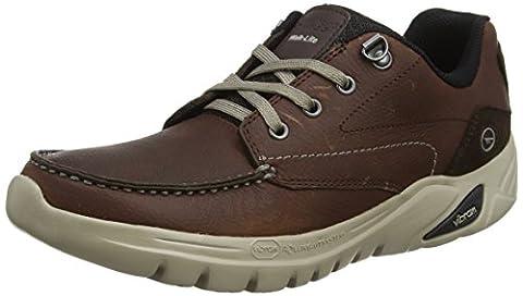 Hi-Tec Men V Walk-Lite Tenby Low Rise Hiking Boots, Brown