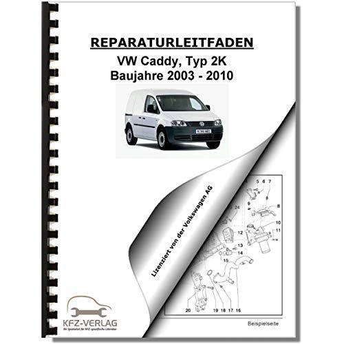 VW Caddy, Typ 2K (03-10) Fahrwerk, Achsen, Lenkung - Reparaturanleitung