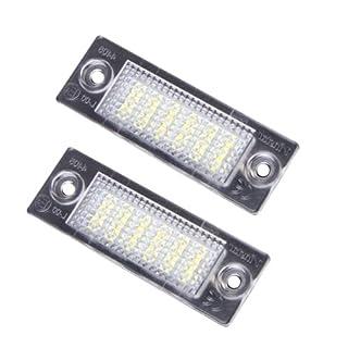 Akhan KB13 - Kennzeichenbeleuchtung, Nummerschildbeleuchtung, LED Module, Plugn Play, komplette Einheit.