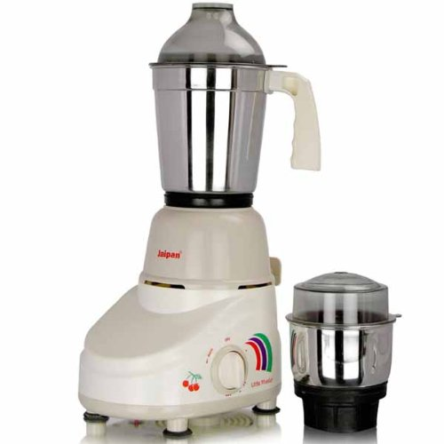 Jaipan JP_LM Little Master 350-Watt Mixer Grinder with 2 Stainless Steel Jars  available at amazon for Rs.1495