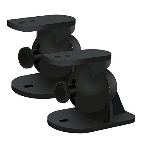 Welsberg 2 piezas (1 par) soporte altavoz universal soportes pared altavoces por...