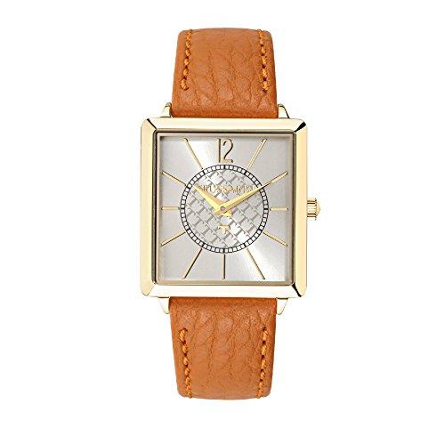 TRUSSARDI Reloj Analógico para Mujer de Cuarzo con Correa en Cuero R2451119505
