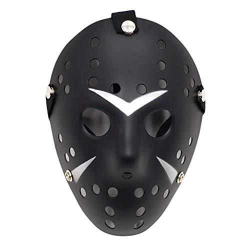 JZTRADING Maske Für Kinder Für Kostüm Halloween-Maske Halloween Jason Deluxe Neuheitsmaske Horrormaske Halloween Requisiten