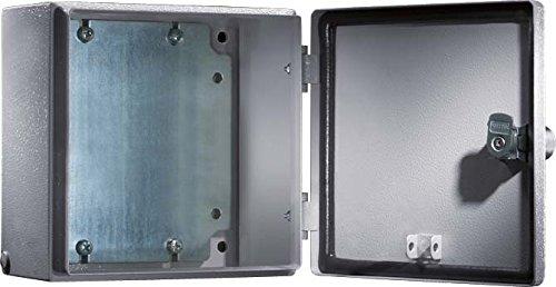 RITTAL Elektro Box EB Wandmodell pulverbeschichtet an der Aussenseite RAL 7035 200x300x120mm - Pulverbeschichtet Kunststoff