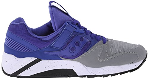 SHOE GREY SAUCONY S70077-41 GRID 9000 Grau