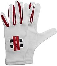 Gray-Nicolls 5208940 Men Inner Pro Full Batting M Gloves - White, Medium