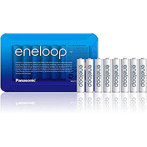 Oferta de Panasonic Eneloop R03/Aaa 750Mah, 8 Pcs, Sliding Pack