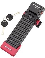 Trelock Faltschloss FS 200/100 Two Go, Halter/Bracket Pink, 8003865
