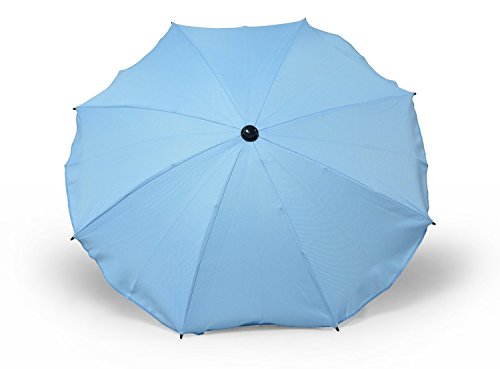 Universal Sonnenschirm Regenschirm für Kinderwagen und Sport Buggy, Babywagen Schirm mit Universal...
