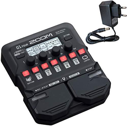 Zoom G1 FOUR Multi-Effektgerät für Gitarre +