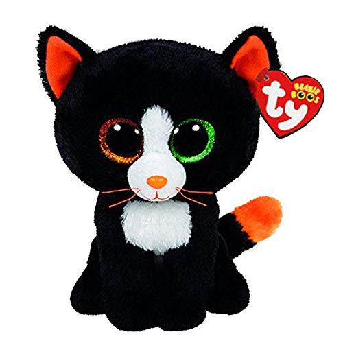YRBB Plüschtier Gefüllte & Plüschtiere Auge Schwarze Katze Spielzeugpuppe 6
