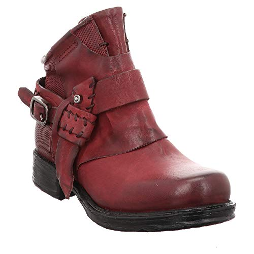 AS98 | Airstep | Stiefelette - rot | Cardinal, Farbe:rot, Größe:41