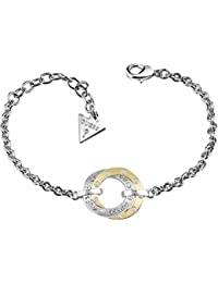 Guess Women Brass Charm Bracelet - UBB84005-S NdHcVXB