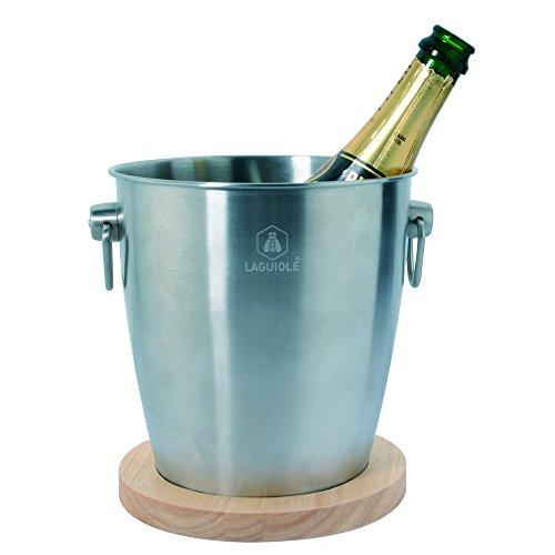Laguiole Seau à Champagne avec Poignées Ergonomiques...