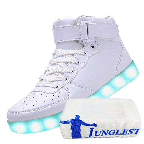 (Présents:petite serviette)JUNGLEST® - Baskets Lumin High-Top blanc