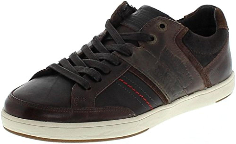 Leviacutes Footwear BEYERS Low Dark Brown/Herren Low Sneaker Braun/Herrenschuhe/Schnürschuhe