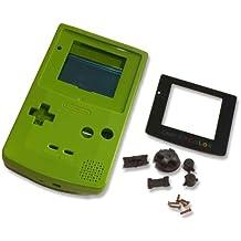 Game Boy GBC Color Lime Green Replacement Shell Case w Screen & Tools [Importación Inglesa]