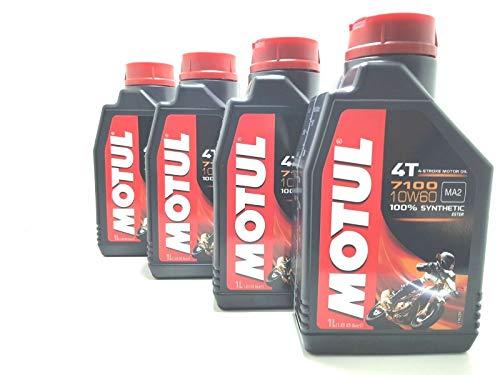 4 LITRI TAGLIANDO OLIO MOTUL 7100 10W60 100% SINTETICO MOTO