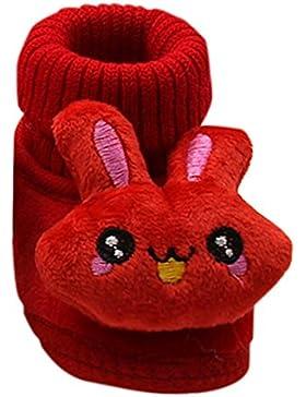 Baby Mädchen Jungen Wanderschuhe mingfa Winter Warm Cute Kaninchen weiche Sohle Anti-Rutsch Infant Toddler Snow...