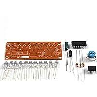 Módulo LED Kit De DIY NE555+CD4017 Electrónica Inteligente Kits De Luz Estroboscópica De Flujo De Agua Para Entrenamiento Electrónico De Producción