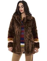 Amazon.it  pelliccia ecologica donna - Pinko   Cappotti   Giacche e ... d28b95c6f92
